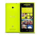 HTC Windows Phone 8X C620e yellow