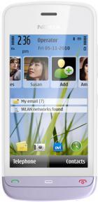 Nokia C5-03 (White/Lilac)